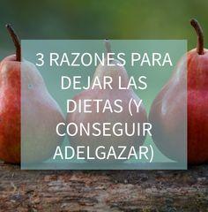 Blog http://anamayo.es/3-razones-para-dejar-las-dietas-y-conseguir-adelgazar/