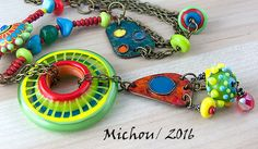 Hipster  Jewelry  bohemian    indie  Statement by MichouJewelry