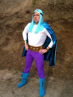 Weird Al as SuperMagic PowerMan on The Aquabats! Super Show!  Such a perfect combination!  :-D