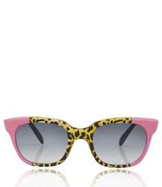 Retro cat eye and 80's flash back sunnies all in one