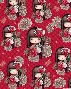 Nobuko Believe – Kimmidoll Kokeshi – Lacquer Red the more modern versions of little kokeshi… Nobuko Believe – Kimmidoll Kokeshi – Lack Rot die moderneren Versionen von kleinen Kokeshi … Diy And Crafts, Arts And Crafts, Paper Crafts, Decoupage, Asian Quilts, Chinoiserie, Anime Dolls, Kokeshi Dolls, Writing Paper