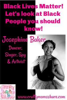 Josephine Black: Performer, Spy & Activist #blacklivesmatter Military Honors, Josephine Baker, Partner Dance, Marriage Vows, Adopting A Child, Black History Month, Women In History, Call Her, Black People