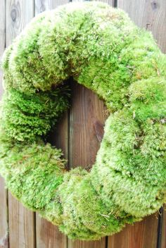 Mood Moss Wreath