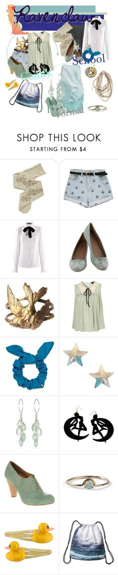 """If I Where a Ravenclaw Student"" by janalunamarie23 ❤ liked on Polyvore featuring ZOHARA, ASOS, Dolce&Gabbana, Alkemie, Marc by Marc Jacobs, Orelia, Usagi, Office, Blumarine and WWAKE"
