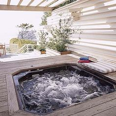 17 Best ideas about Hot Tub Deck on Pinterest   Hot tubs, Tubs and ...