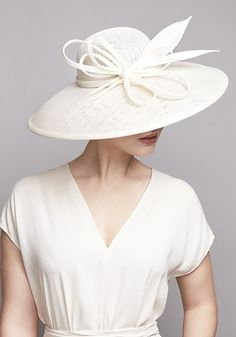 a4dc3a5c R1884 - Ivory sparkle sinamay hat with feathers Buy Hats, Women's Hats,  Ascot Hats