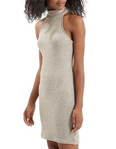 Women's   Women's   Ribbed Turtleneck Bodycon Dress   Hudson's Bay