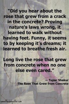 Favorite poem. Tupac Shakur