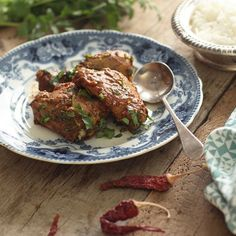 A uniquely flavoured chilli-coconut chicken dish made from roasting a delicate blend of spices into a spicy thick paste.