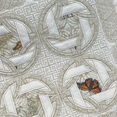 Stitch Delight: SDS1203 Patchwork ITH 4 Celtic Leaf, All Design Sets, SDS1203