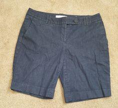 Womens Ann Taylor loft blue cotton Bermuda shorts size 10 petite  | Clothing, Shoes & Accessories, Women's Clothing, Shorts | eBay!