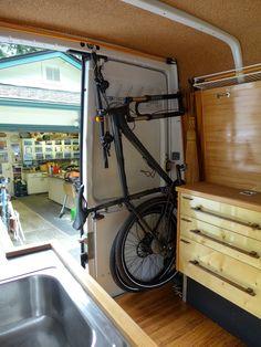 Mountain bike storage