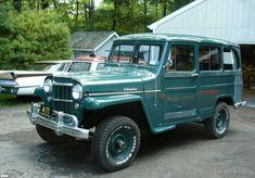 1957_Willys_Station Wagon-1 Willys Wagon, Jeep Willys, Jeep 4x4, Cool Trucks, Cool Cars, Classic Trucks, Classic Cars, Jeep Commander, Station Wagon