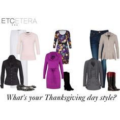 """Thanksgiving Day Style"" by etcetera-5n2-boutique-st-louis on Polyvore"