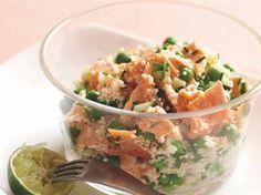 astuce recette minceur girl world world recipes world snacks Plats Healthy, Healthy Salads, Healthy Cooking, Healthy Eating, Veggie Recipes, Salad Recipes, Diet Recipes, Healthy Recipes, Herb Salad
