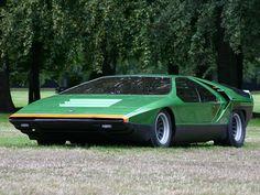 Bertone Alfa Romeo Carabo Concept car 1968