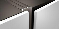 minolte | BORA – recessed handle – aluminium