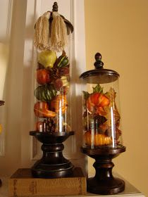 Adventures in Decorating: It's a Fall Cloche Par-tay!