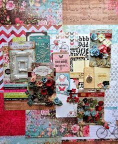 Maremi's Small Art: My Creative Scrapbook June Limited Edition Kit