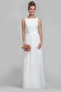 Neue Spitze Bateau Weiß Reißverschluss Chiffon Braut Günstige Casual Brautkleider 2016 Vestido De Noiva in                           Für nach Maß kleid, füllen Sie bitte das Format unten und bieten uns, wenn Sie die Bestellung  aus Hochzeit Kleider auf AliExpress.com | Alibaba Group