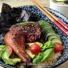 30-minute Teriyaki Chicken Don: Instead of heading to a Japanese restaurant, why not make this easy Teriyaki chicken rice bowl at home? The homemade Teriyaki sauce uses just 3 ingredients and gives a beautiful glossy caramelised finish to the chicken thighs. Serve with a bowl of Japanese rice for a complete meal!  I learnt...Read More