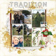 Bringing Home the Christmas Tree_right #scrapbook #designerdigitals