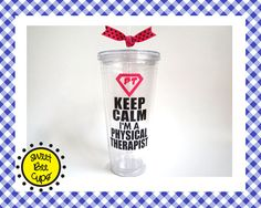 Personalized Acrylic Cup Lg  Keep Calm I'm a by SweetBeeCups, $17.00