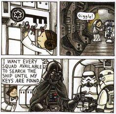 These little Star Wars comics are so adorable Star Wars Jokes, Star Wars Comics, Darth Vader And Son, Sith, Star Wars Fan Art, Star War 3, Clone Wars, Fanart, Rpg
