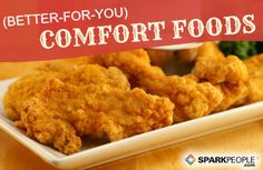 This is great if you love southern cooking like I do but don't love all the fat and calories.  Includes buffalo chicken mac & cheese, shrimp & grits, pork and beans, BBQ chicken, meatloaf, homemade chicken nuggets and more! I can't wait to try these!!! Better-For-You Southern Comfort #Recipes.   via @SparkPeople