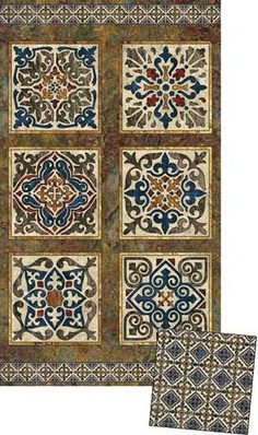 Marblehead Tile Wall Quilt