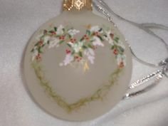 DELICATE HEART ORNAMENT by pbowes1111, via Flickr