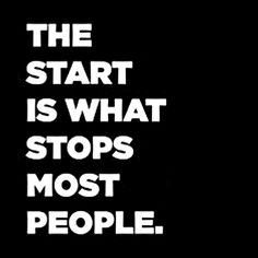 Go ahead...take that first step.