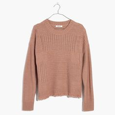 Stitchmix Pullover Sweater : sweaters | Madewell