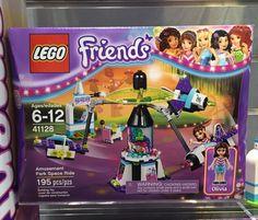 LEGO Friends Amusement Park Space Ride 41128 Box