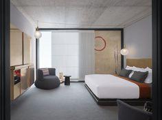 Nobu Hotel Shoreditch - Studio Suite | Interior Design - Studio Mica | Photography - Will Pryce