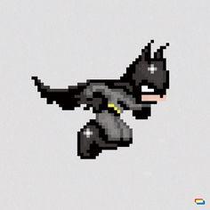 Superheroes en 8 bit | Arte, Cine, Videojuegos, en Gran Angular Blog