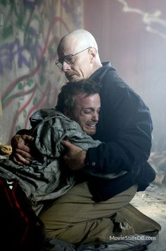 Breaking Bad - Publicity still of Bryan Cranston & Aaron Paul