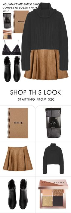 """""""⭐️Ghost⭐️"""" by xxkatiehemmingsxx ❤ liked on Polyvore featuring Nicole Miller, Haider Ackermann, H&M, Bobbi Brown Cosmetics and Eberjey"""