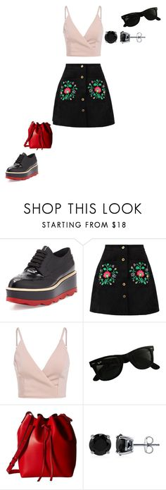 """""""03/08/17"""" by daydreamingpisces ❤ liked on Polyvore featuring Prada, Ray-Ban, Gabriella Rocha and BERRICLE"""
