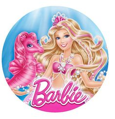 12 Barbie Mermaid Edible Wafer Paper Cupcake Cup Decoration Cake Image Toppers for sale online Barbie Song, Barbie Theme, Barbie Birthday, Barbie Party, Mermaid Princess, Barbie Princess, Princess Disney, Barbie Cartoon, Captain America Birthday