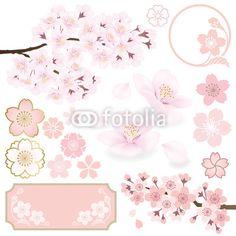 """Fotolia.comのロイヤリティフリーのベクター、""""桜""""(作者:n_eri、作品ID:#60646586)"""