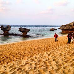 "The ""heart rock"", Kouri island, Okinawa Japan"