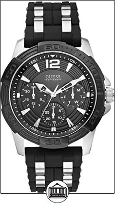 GUESS Reloj de cuarzo Man W0366G1 44 mm de ✿ Relojes para hombre - (Gama a794a340da
