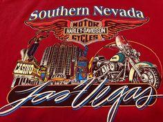 #HarleyDavidsonTShirt #Motorcycles #LasVegas #TShirt #Tee #SouthernNevada USA 1996 XL  #HarleyDavidson #GraphicTee