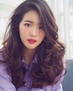 Korean Star, Korean Actresses, Beauty Women, My Hair, Hair Cuts, Hair Color, Hair Beauty, Handsome, Long Hair Styles