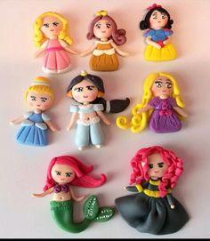princesas en pasta