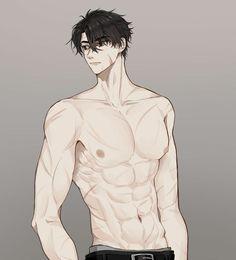 Anime Sexy, Hot Anime Boy, Anime W, Anime Sensual, Dark Anime Guys, Cool Anime Guys, Handsome Anime Guys, Anime Male, Shirtless Anime Boys