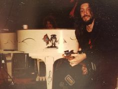 Allen Collins and 'Taz' from Charlie Daniels Band