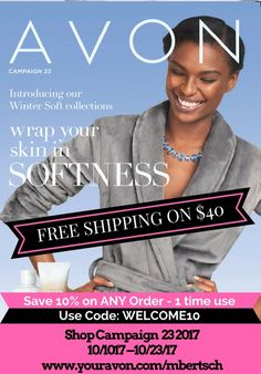 Check out the NEW Avon Brochure JUST OUT! Skin So Soft specials!  #AvonRep #AvonBrochure #ShoppingOnline