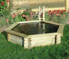 27 idéés pour le bassin de jardin préformé , hors sol + - étang-hors-sol-petit